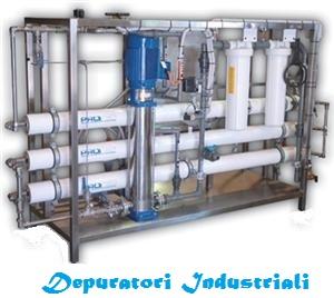 Impianto di depurazione acqua domestica